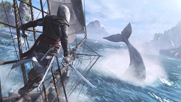 "Assassin's Creed 4: Black Flag will take ""half an hour"" to travel across"