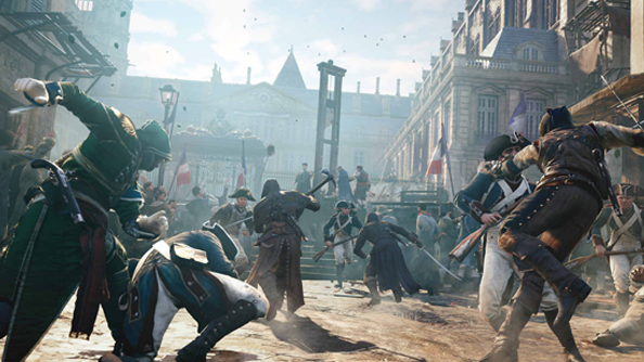 Assassin's Creed Unity trailer shows off Nvidia Gameworks enhancements