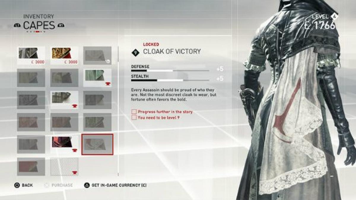 Assassin S Creed Syndicate Lets You Craft A Cape With The Emblem