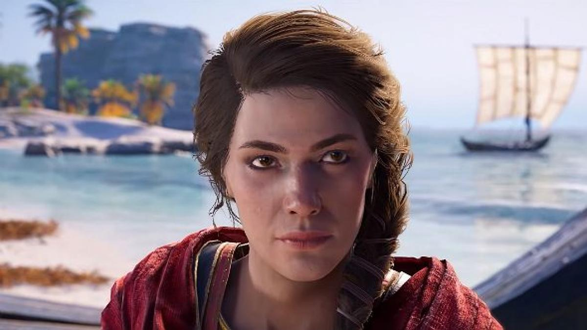 Assassin S Creed Odyssey S Female Lead Will Be The Canon Character