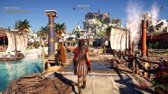 assassins creed odyssey e3 gameplay walkthrough