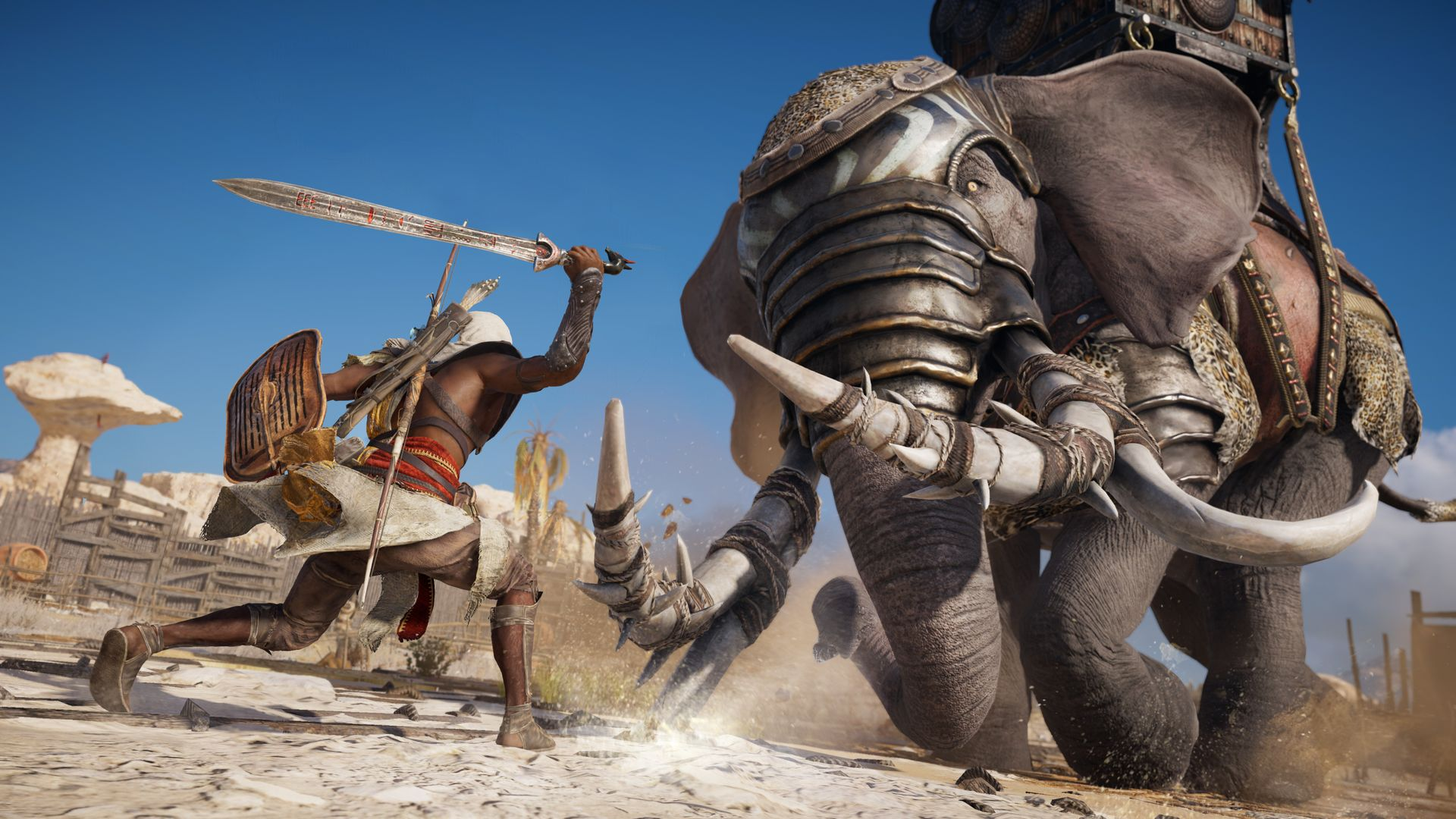 assassins creed origins launch trailer