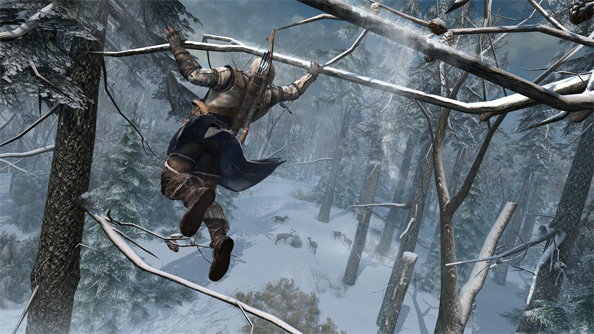 Assassin's Creed 3 launch trailer is all pomp and silliness; neglects to mention pattable dogs