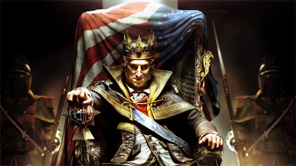 George Washington becomes King of America in the Assassin's Creed 3 DLC