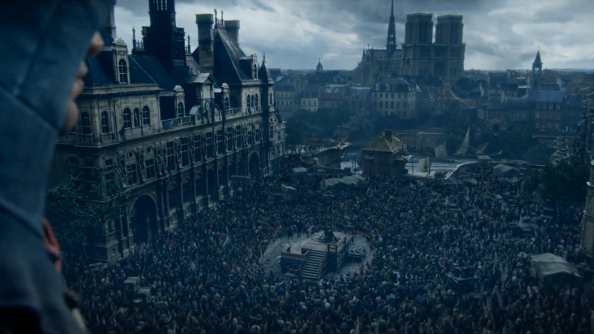 Arno races the guillotine in a new Assassin's Creed Unity CG trailer