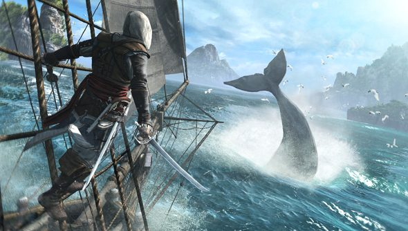 Assassins Creed 4 Black Flag Revealed You Can Harpoon Whales In