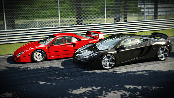 Hands on with Assetto Corsa, a racing simulator made using lasers