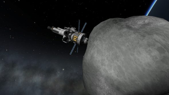 Kerbal Space Program updates adds Asteroid Redirect Mission