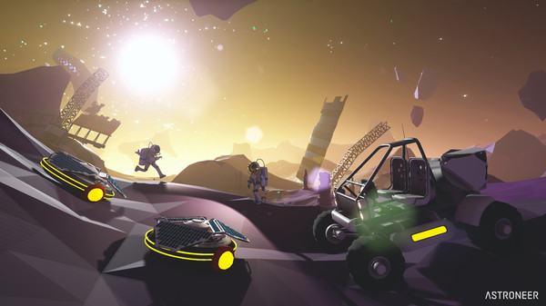 Astroneer's new gameplay video shows off multiplayer planet survival and terrain sculpture