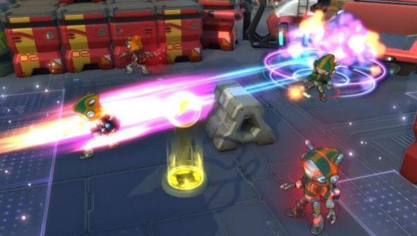 Atlas Reactor gameplay
