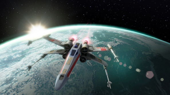 Ex-Wing: Star Wars Attack Squadrons canned