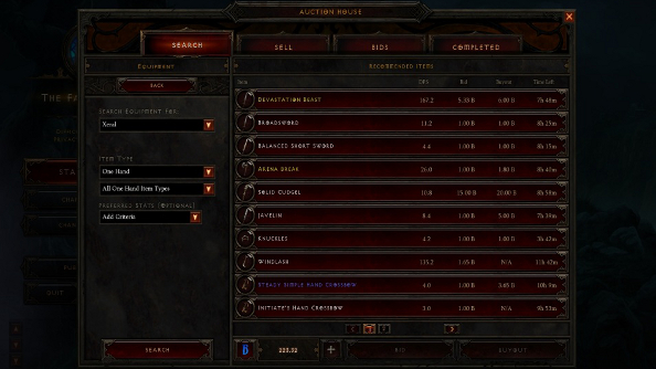 Here today: Diablo 3's Auction House will be gone tomorrow