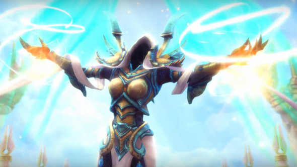 The Archangel of Hope, Auriel, is playable on the HotS PTR from next week