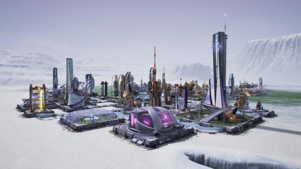 Aven Colony ice biome