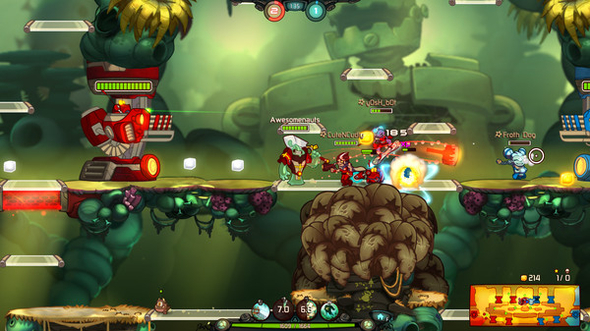 Win a key for free access to the Awesomenauts beta -  it's bright, colourful and full of explosions!