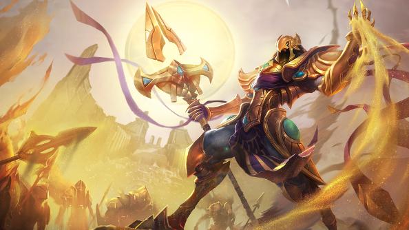 League of Legends hits 4.15 and another champion, Azir, is on its way
