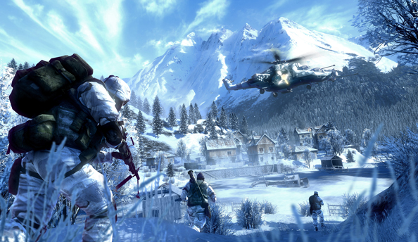 See Battlefield: Bad Company 2 modded to within an inch of its life