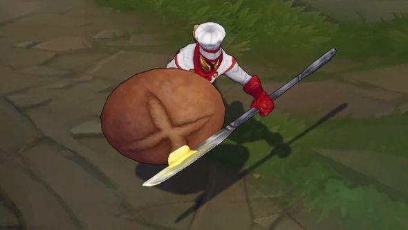 Baker Pantheon in-game