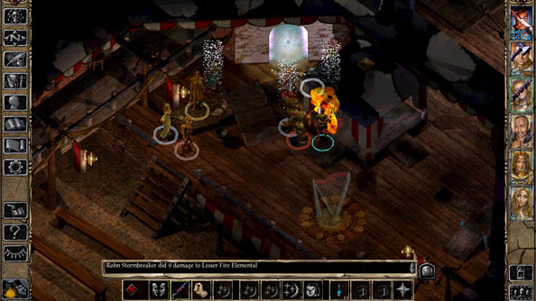 Old games Baldur's Gate II