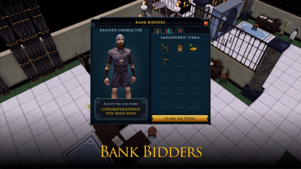 "Bank Bidders ""wouldn't make a dent"" on Runescape's economy, says Jagex Mod Osborne"