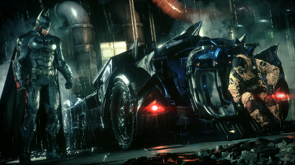Batman: Arkham Knight due out in June next year, complete with a tiny Batmobile for your desk