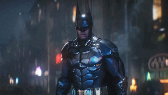 The Batman: not the Arkham Knight. Just some other dumb knight.