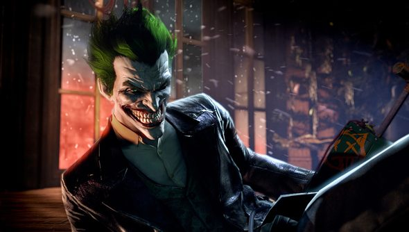 The Joker: eventual, inevitable antagonist of every Batman game.