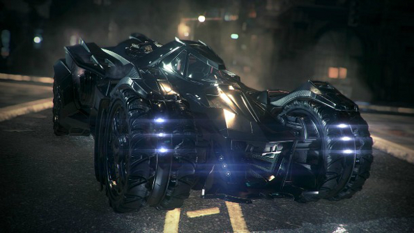 Batman: Arkham Knight Batmobile is integral