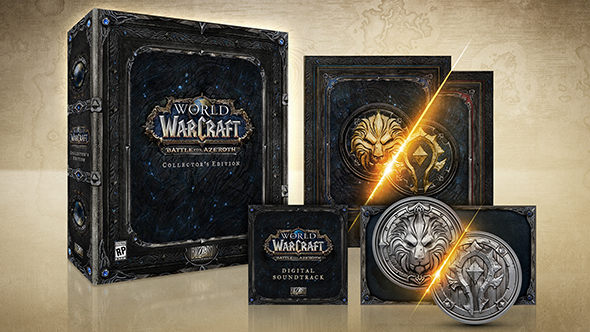 battle for azeroth collectors edition