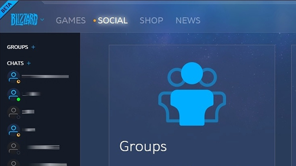 Battle net's appear offline and group features are now in