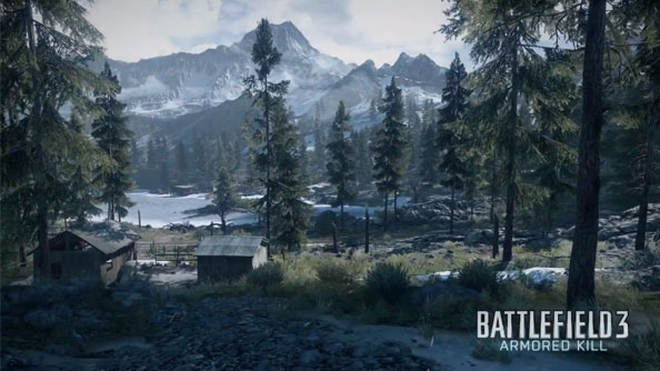 Battlefield 3: Armored Kill trailer takes a fly through the Alborz Mountain map