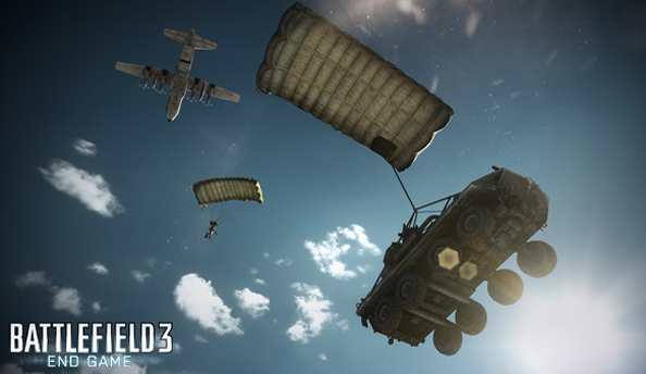 How to take down a C130 with a repair tool in Battlefield 3: End Game
