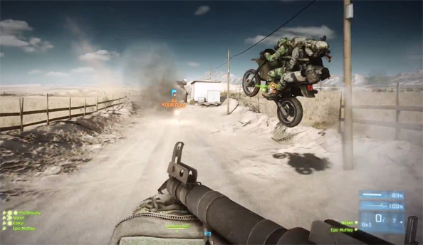 Battlefield 3 blog goes into the nitty gritty of dirt bike jumps