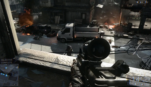 Battlefield 4 will report for duty on October 29