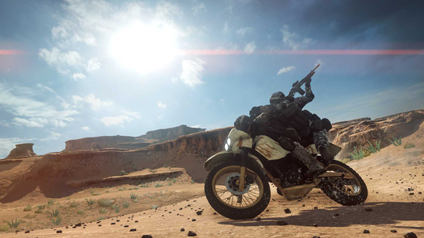 China Rising and its dirt bikes have helped retain players in the months since Battlefield was released.