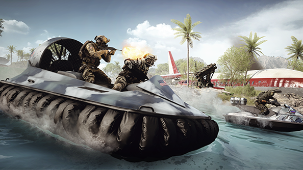 "Battlefield 2142 veterans will feel ""right at home"" with Battlefield 4's Carrier Assault mode"