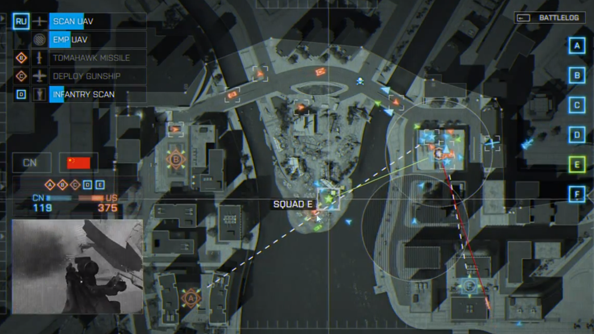 Battlefield 4 commander mode trailer shows how overwatch ties up the game's loose ends