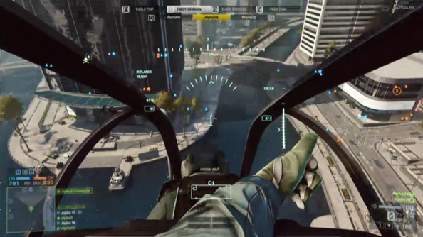 The Siege of Shanghai - Battlefield 4's sole beta map.
