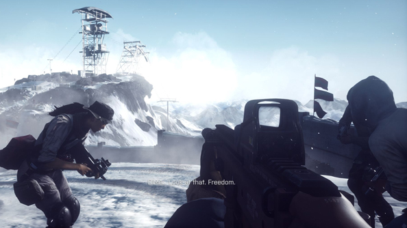 The Battlefield 4 single player campaign is better than you might think.