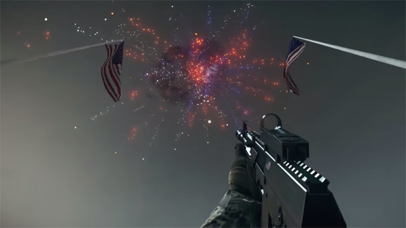 DICE celebrated Independence Day with an explosive Battlefield 4 easter egg