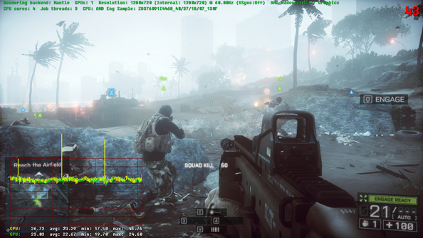 "AMD Mantle rendering hits Battlefield 4; ups game performance in ""virtually all scenarios"""