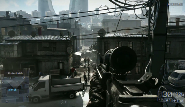 "Battlefield 4 single player will exploit ""signature multiplayer elements"" to provide greater tactical scope"