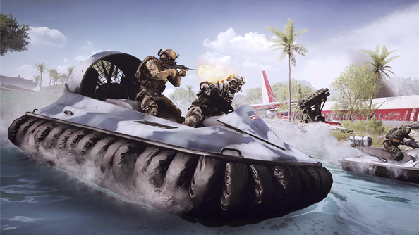 Battlefield 4: Naval Strike trailer shows ye olde cannon smiting a whirly bird
