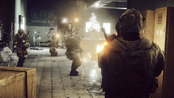 Battlefield 4: still in the medical bay, four months after release.
