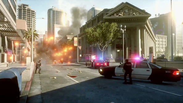 Battlefield Hardline: not a regular off-year shooter offering from EA.