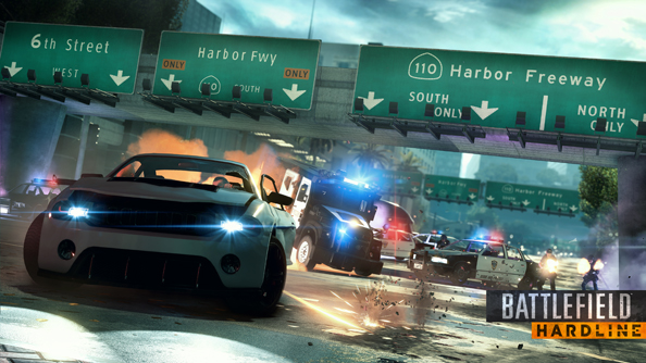 Battlefield Hardline: now with a bit less boom.