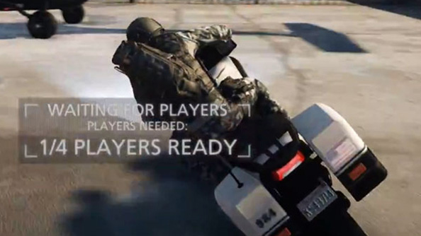 Battlefield Hardpoint has police bikes, and they make short work of plate glass windows