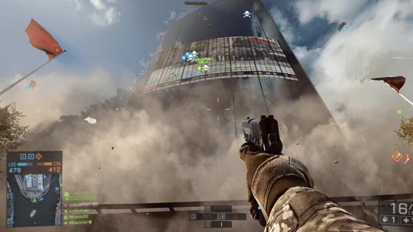 Battlefield 4 loadout presets are only accessible in Battlelog.