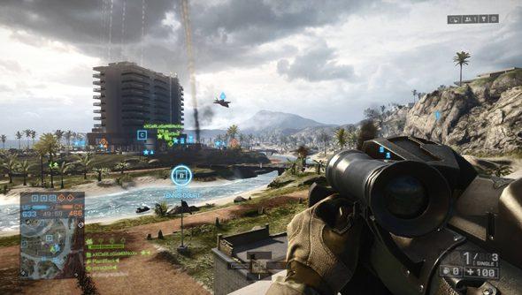 Battlefield 4: adopting a new gait.