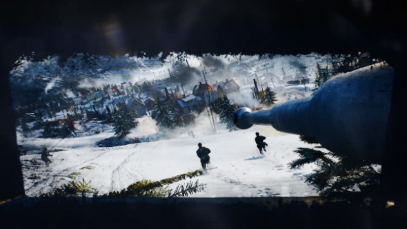 battlefield 5 tank gameplay
